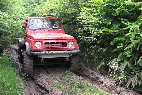 Dartfield 4X4 Off Road Track.
